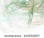 Abstract Smoke Swirls. Fractal...