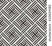 seamless vector pattern.... | Shutterstock .eps vector #610634483