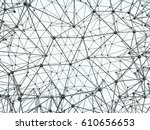 abstract geometrical background ... | Shutterstock . vector #610656653