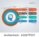 business concept options.... | Shutterstock .eps vector #610679537