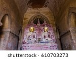 Buddha Images In Ancient Templ...