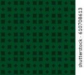 vector seamless pattern. modern ... | Shutterstock .eps vector #610708613