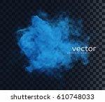 vector illustration of smoke....