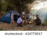 Small photo of Souting activities Boy Scouts ameria.
