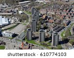 Aerial View Of Rochdale Town...