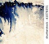 designed artistic grunge... | Shutterstock . vector #61078351