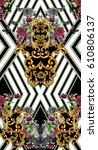 baroque   Shutterstock . vector #610806137