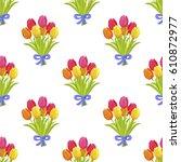 Seamless Pattern With Beautifu...