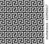 ancient greek key pattern  ...   Shutterstock .eps vector #610902617