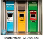 atm money machine | Shutterstock . vector #610928423