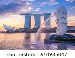 singapore  singapore   may 21 ... | Shutterstock . vector #610935047