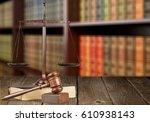 justice. | Shutterstock . vector #610938143