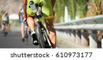 cycling competition race at...   Shutterstock . vector #610973177