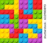 color elements vector... | Shutterstock .eps vector #610980893