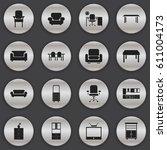 set of 16 editable home icons....