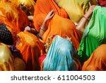 Colorful Sari  Saree  Of India...