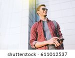 urban fashion lifestyle concept.... | Shutterstock . vector #611012537