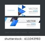 abstract business vector set of ...   Shutterstock .eps vector #611043983