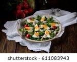 Spring Green Salad From Organi...