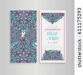vintage template design layout...   Shutterstock .eps vector #611175293