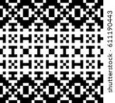 vector seamless pattern.... | Shutterstock .eps vector #611190443