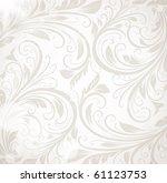 seamless wallpaper  vector... | Shutterstock .eps vector #61123753