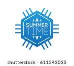 summer time | Shutterstock .eps vector #611243033