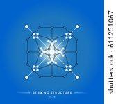 stroke linear isolated... | Shutterstock .eps vector #611251067