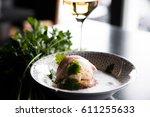 exotic wine pairing | Shutterstock . vector #611255633