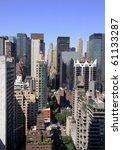 manhattan perspective i | Shutterstock . vector #61133287