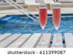 vacation celebration concept ... | Shutterstock . vector #611399087