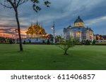 ananta samakhom throne hall... | Shutterstock . vector #611406857