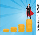 business characters.... | Shutterstock .eps vector #611472443