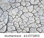 Crack Soil On Dry Season ...