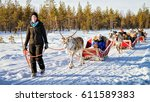 rovaniemi  finland   march 5 ...   Shutterstock . vector #611589383