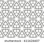 ornamental seamless pattern....   Shutterstock .eps vector #611626607