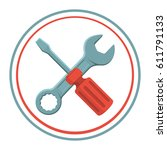 icon repair | Shutterstock .eps vector #611791133