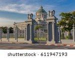 ananta samakhom throne hall at... | Shutterstock . vector #611947193