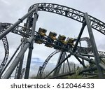 alton towers   march 30  2017 ... | Shutterstock . vector #612046433