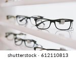 eye glasses in a store | Shutterstock . vector #612110813