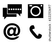 button for website vector  | Shutterstock .eps vector #612253697