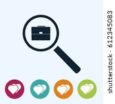 search job  icon  vector best...
