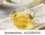 raw organic sweet light agave...   Shutterstock . vector #612350513