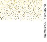 gold glitter background polka...   Shutterstock .eps vector #612460973