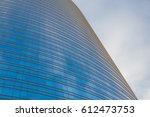 modern office tower made from... | Shutterstock . vector #612473753