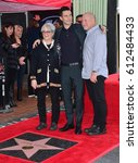 Small photo of LOS ANGELES, CA. February 10, 2017: Singer Adam Levine & parents at the Hollywood Walk of Fame Star Ceremony honoring singer Adam Levine.