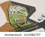 3d rendering and design  ... | Shutterstock . vector #612486737