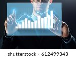 business  people  technology... | Shutterstock . vector #612499343