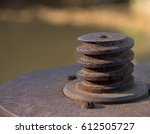 Small photo of Rusty Spiral Object