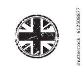 great britain grunge rubber...   Shutterstock .eps vector #612508877